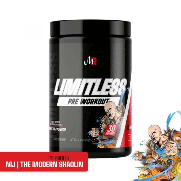 limitless Combat Cola high-end supps