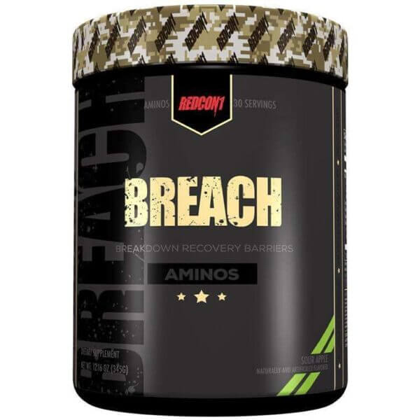 Redcon1 Breach Sour Apple high-end supps