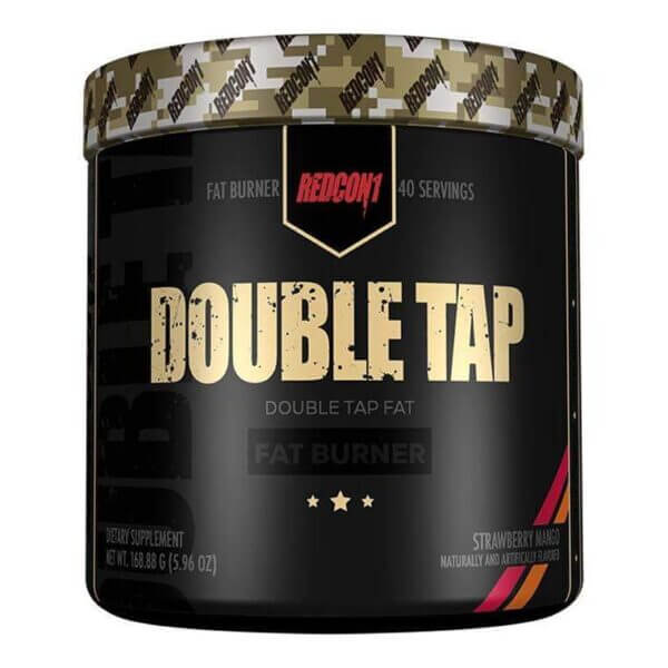 Redcon1 Double Tap Powder Strawberry Mango high-end supps