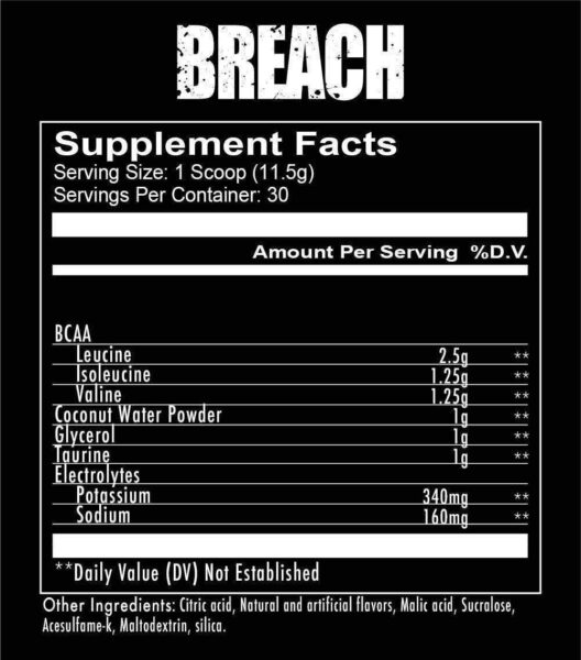 supplements breach branched chain amino acids 8 spo high-end supps