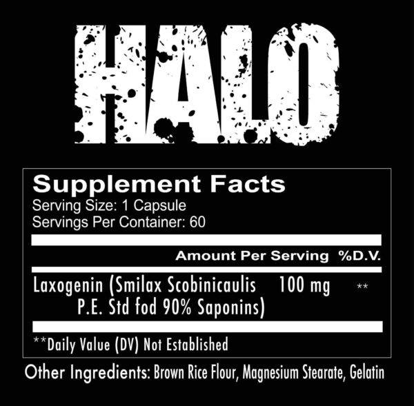 supplements halo 2 spo high-end supps