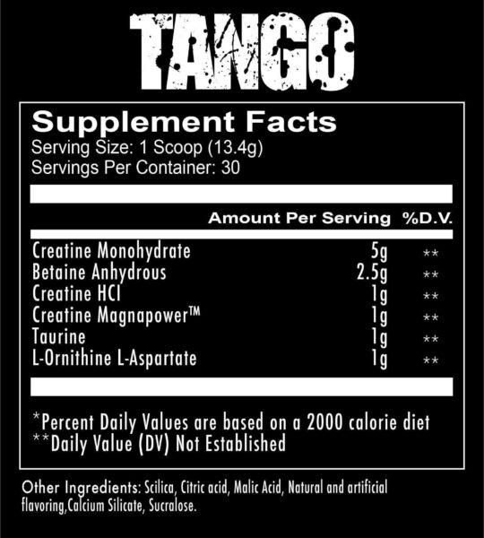 supplements tango 2 spo high-end supps