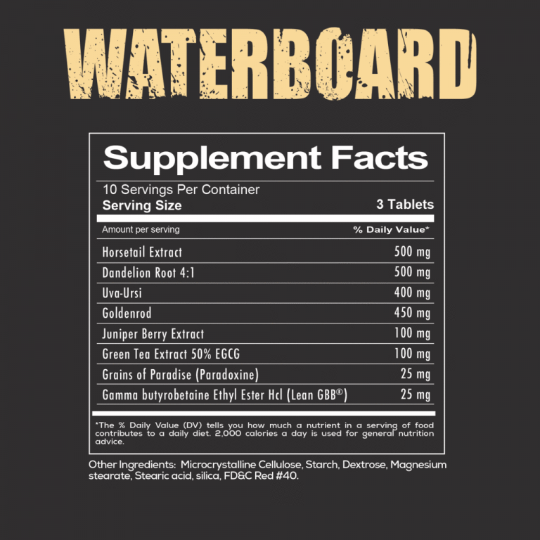 waterboard supplementfacts redcon1 high-end supps