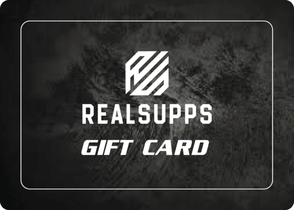 GIFT CARD high-end supps