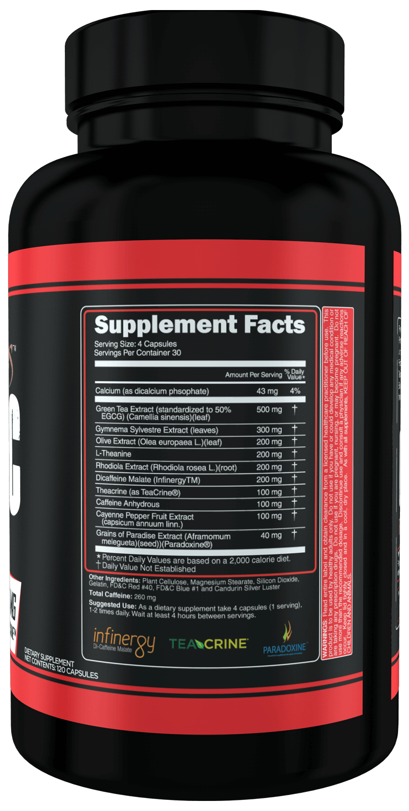 Pyretic black 2 high-end supps