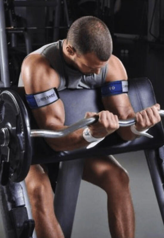 bfr rigid bands use bicep high-end supps