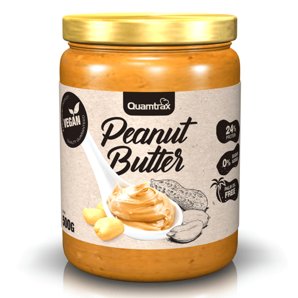 BOTE QUAMTRAX GOURMET PEANUT BUTTER 500G high-end supps