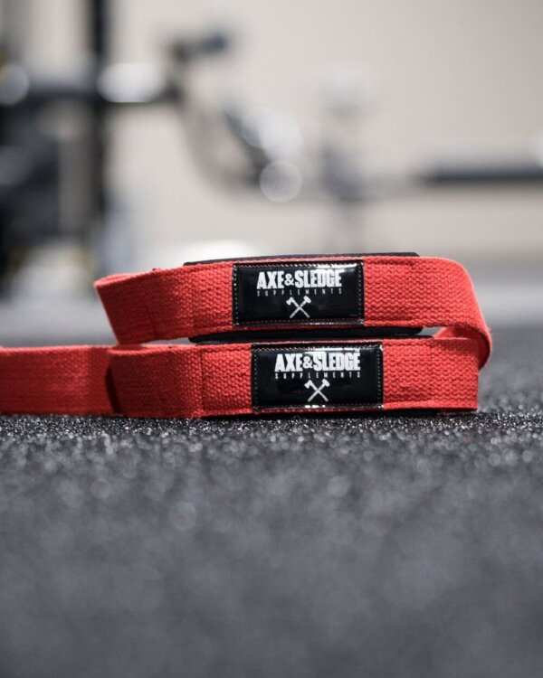 Liftings straps red high-end supps