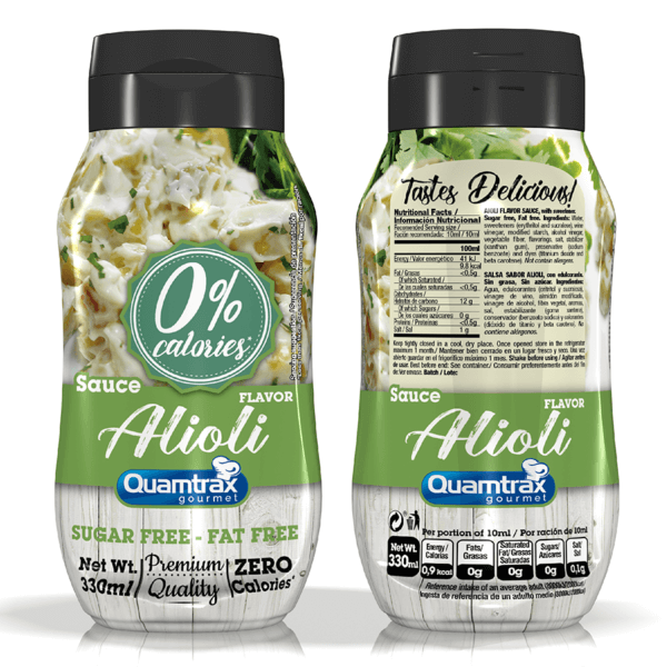 Bote Alioli Sauce 320ml high-end supps
