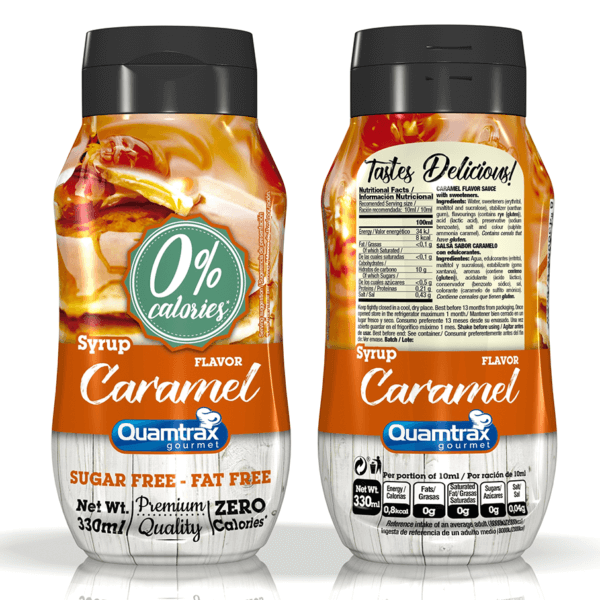 Bote Caramel Sauce 320ml high-end supps