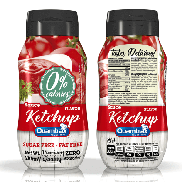 Bote Ketchup sauce 320ml high-end supps