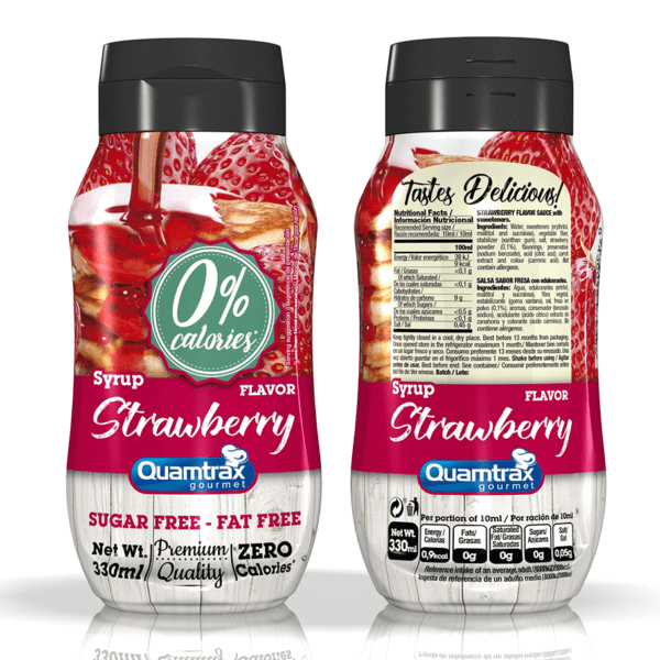 Bote Strawberry Syrup 320ml high-end supps
