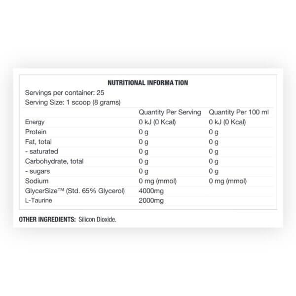 glycerswell nutritional 1 high-end supps
