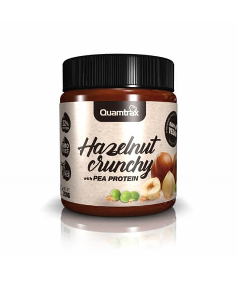 hazelnut crunchy with pea protein 250g high-end supps