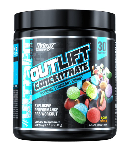 outlift concentrate sour shox high-end supps