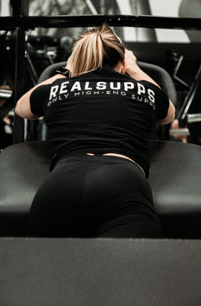 T Shirt vrouw scaled high-end supps
