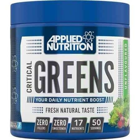 critical greens Applied Nutrition high-end supps