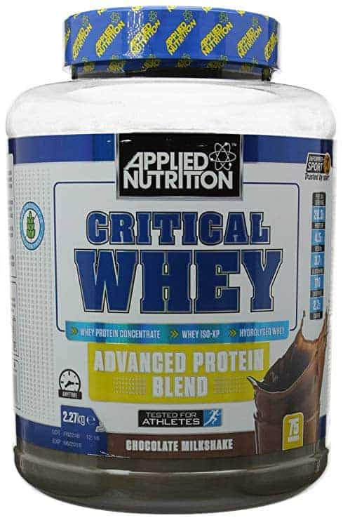 critical whey 2.27 kg high-end supps