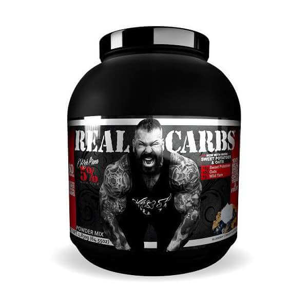 5 nutrition rich piana real carbs blueberry cobbler high-end supps