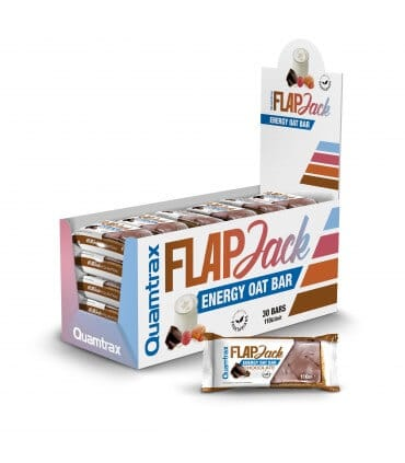 quamtrax flapjack oatbar high-end supps