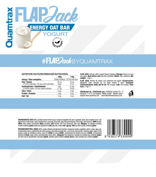 quamtrax yoghurt panel RS high-end supps