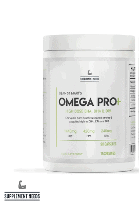 Supplements need omega pro high-end supps