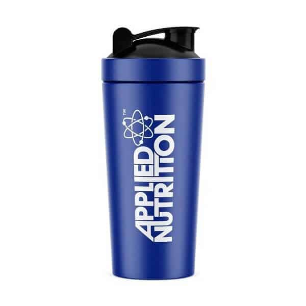 applied nutrition applied metal shaker 750ml blue high-end supps