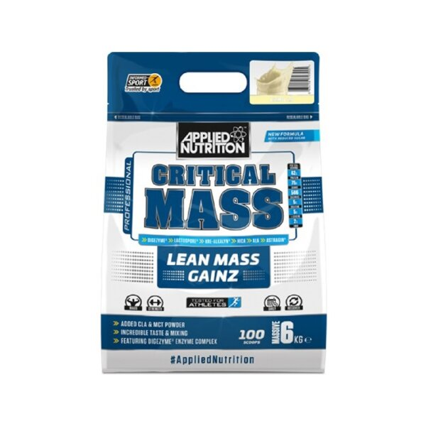 mass gainer applied 6kg high-end supps
