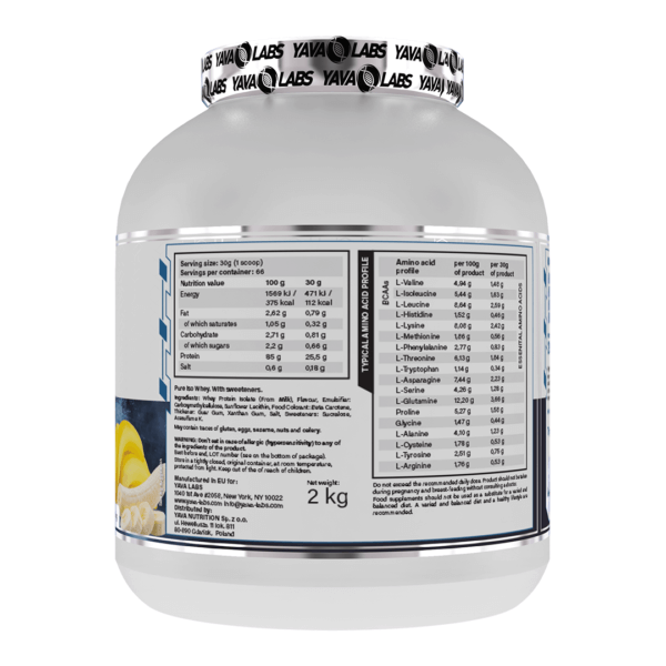 pure iso banana 02 high-end supps