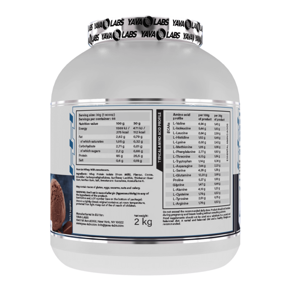 pure iso choc 02 high-end supps