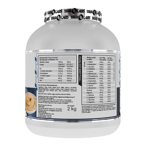 pure iso peanut 02 high-end supps