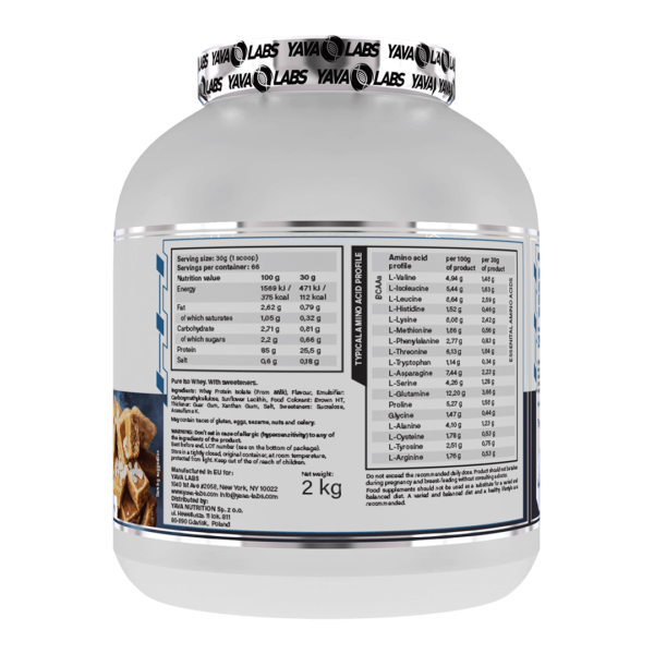 pure iso salted caramel 02 high-end supps