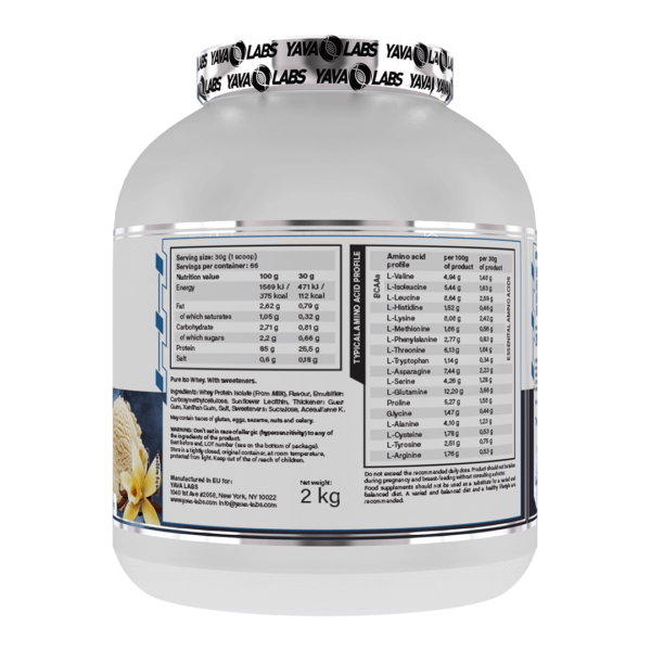 pure iso van 02 high-end supps