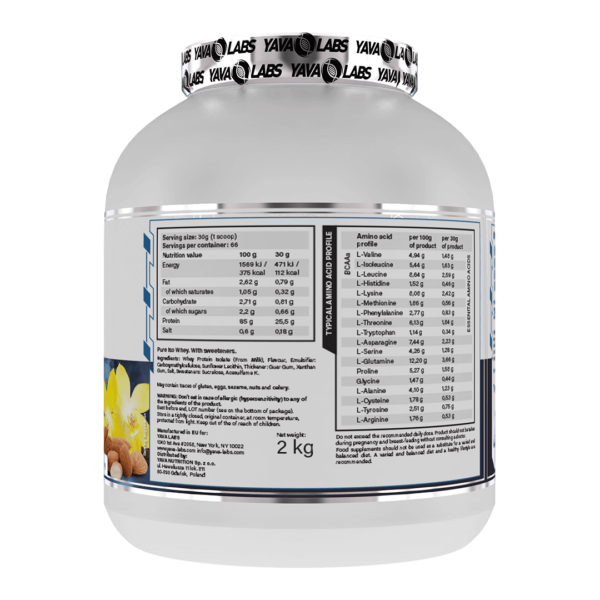 pure iso van almond 02 high-end supps